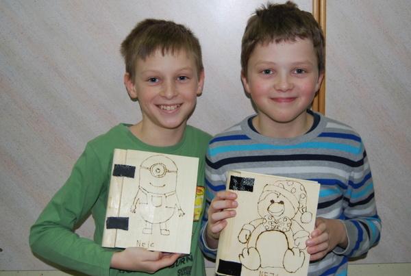Tehniški dan v 6. razredu- Izdelava skrinjice za nakit
