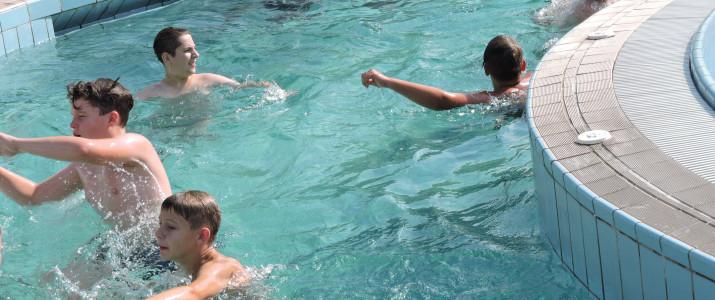 1. športni dan – plavanje