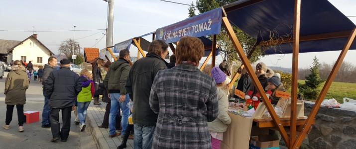Božični bazar na OŠ Sveti Tomaž
