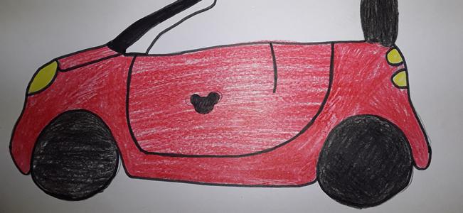 1. TD v 8. razredu: Načrtovanje avtomobila Go Car Go