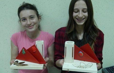 3. tehniški dan v 7. razredu: Izdelava izdelka iz umetnih mas