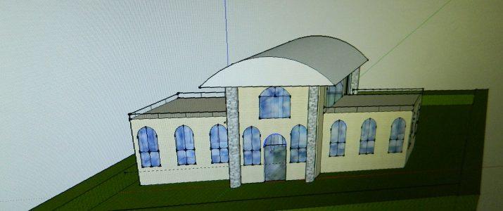 Tehniški dan v 9. a razredu: Načrtovanje sanjske hiše